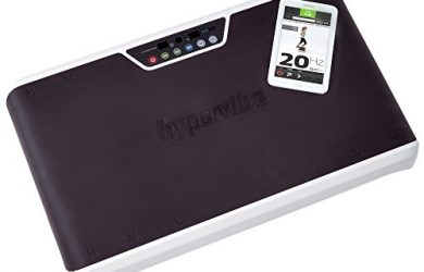 The Hypervibe G10 Mini WBV platform has a handy mobile app for controlling the machine.
