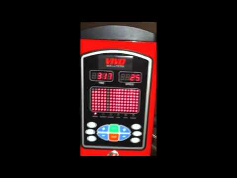VIVO Vibe 460 whole body vibration platform machine.