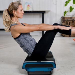Low impact whole body vibration platform.