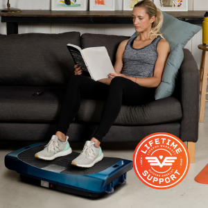 Whole body vibration platform in the home.